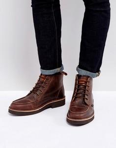 Ботинки на шнуровке Farah - Коричневый