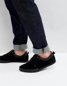 Замшевые кроссовки Farah Dean - Черный