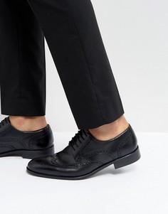 Черные кожаные туфли Dune - Черный