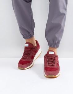 Красные кроссовки Saucony Shadow 5000 HT Weave Pack S70371-3 - Красный