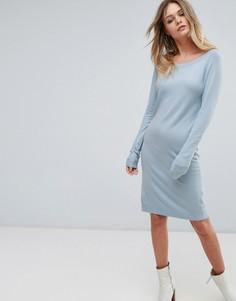 Трикотажное платье Vila - Синий