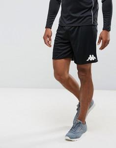Спортивные шорты с логотипом Kappa - Черный