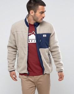 Бежевая флисовая куртка на молнии Penfield - Бежевый