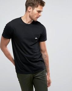 Черная футболка классического кроя с логотипом на кармане Penfield - Черный