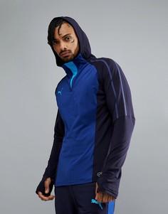 Темно-синий худи Puma Football evoTRG Training 65532950 - Темно-синий