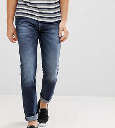 Темные узкие джинсы Diesel Thommer 84KW - Синий