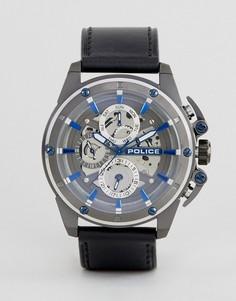 Черные мужские часы Police - Черный