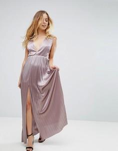 Платье макси Glamorous - Фиолетовый