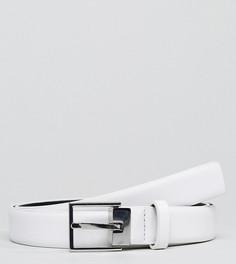 Белый кожаный ремень Noak - Белый