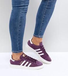 Фиолетовые кроссовки adidas Originals Campus - Красный