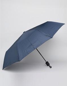 Синий зонт в полоску Peter Werth - Синий