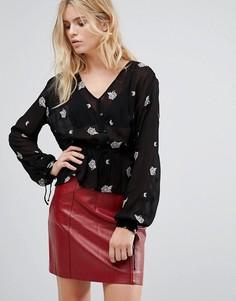 Блузка с принтом Pepe Jeans Rufina - Черный