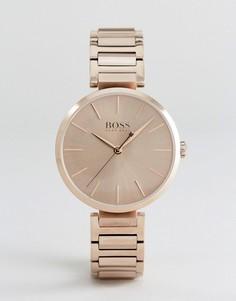 Наручные часы цвета розового золота BOSS By Hugo Boss 1502418 - Золотой