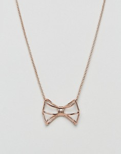 Ожерелье с геометрической подвеской Ted Baker - Золотой