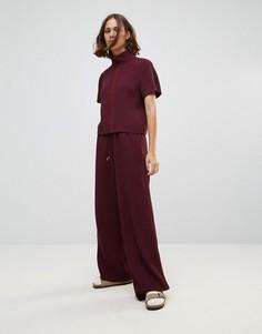 Свободные брюки Wood Wood Josette - Красный