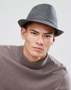 Фетровая шляпа Boardmans Chris - Серый