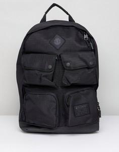 Черный рюкзак с карманами Element Beyond - Черный