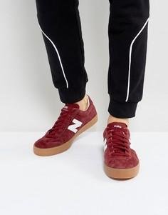 Красные замшевые кроссовки New Balance 22 ML22BUR - Красный