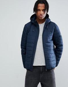 Темно-синяя дутая куртка Element Alder - Темно-синий