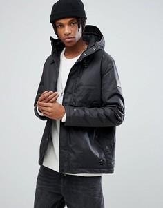 Черная вощеная непромокаемая куртка Element Freeman - Черный