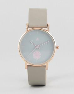 Серо-розовые часы ASOS - Серый