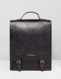 Кожаный рюкзак Dr Martens - Черный