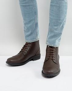Коричневые ботинки на шнуровке Brave Soul - Коричневый