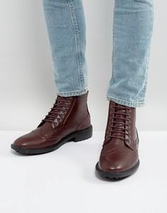 Ботинки-броги Brave Soul - Красный