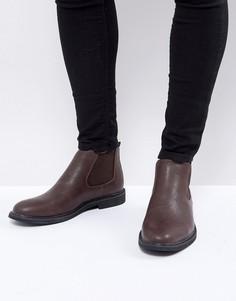 Коричневые ботинки челси Brave Soul - Коричневый