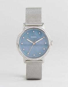 Серебристые часы Fossil ES4313 Neely - Серебряный