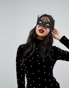 Маскарадная маска для Хэллоуина Johnny Loves Rosie - Черный