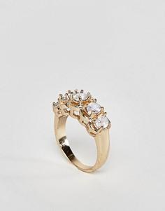 Кольцо в винтажном стиле с опалом ASOS - Золотой