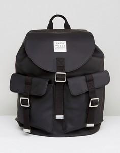 Черный рюкзак Jack Wills Beresford Explorer - Черный