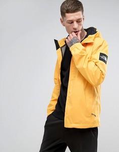 Желтая куртка с капюшоном The North Face Mountain Q - Желтый
