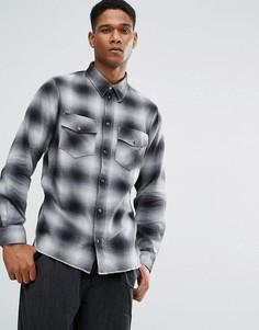 Рубашка Weekday Leon - Черный