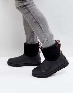 Классические водонепроницаемые ботинки с фиксаторами UGG - Черный
