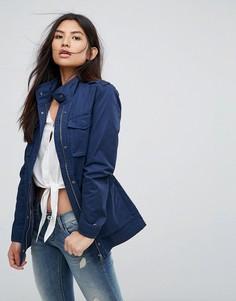 Куртка в стиле милитари Tommy Hilfiger Denim - Темно-синий