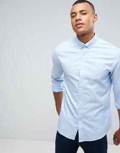 Оксфордская рубашка Celio - Синий