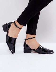 Туфли на плоской подошве ASOS MAPLE - Черный
