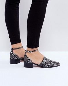 Туфли на плоской подошве ASOS MAPLE - Бежевый