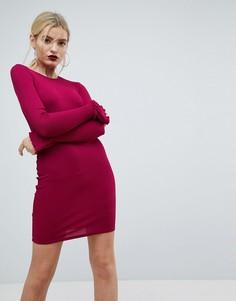 Облегающее платье ASOS - Красный