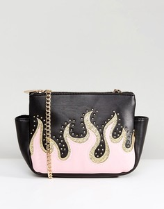 Розовая сумка через плечо Skinnydip - Мульти