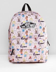 Розовый рюкзак Vans X Peanuts - Розовый
