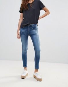 Укороченные джинсы скинни Waven - Синий
