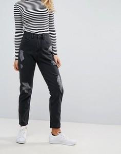 Джинсы в винтажном стиле Waven Elsa - Черный