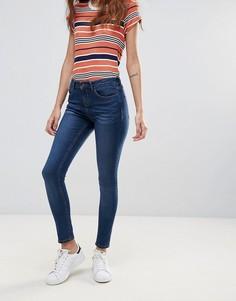 Укороченные джинсы скинни Waven Freya - Темно-синий