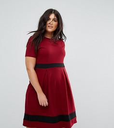 Приталенное платье Praslin - Красный