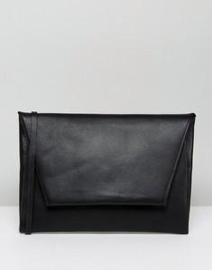 Сумка-конверт через плечо Weekday - Черный