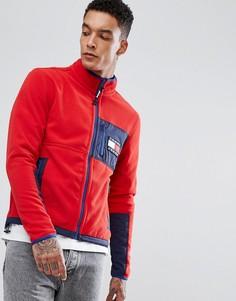 Красная флисовая куртка в стиле 90-х Tommy Jeans Capsule - Красный