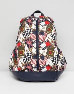 Рюкзак в стиле 90-х с принтом флагов Tommy Jeans Capsule - Мульти